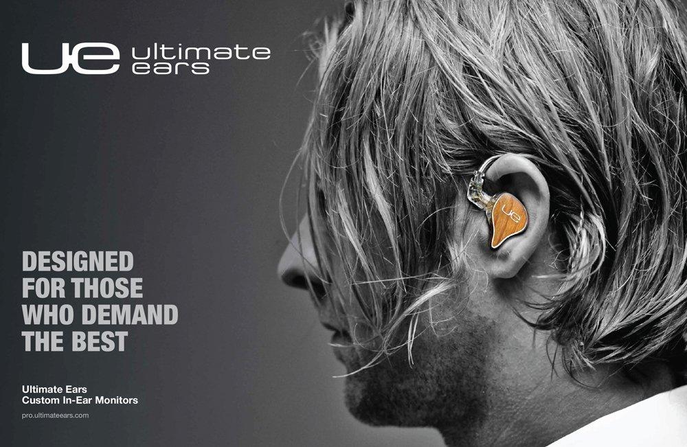 Ultimate Ears Ue Pro Custom In Ear Monitor Lawrence Hearing Aid Center